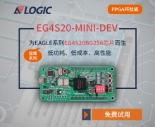 安路科技EG4S20-MINI-DEV FPGA开拓板武康鼎丰国际消费试用