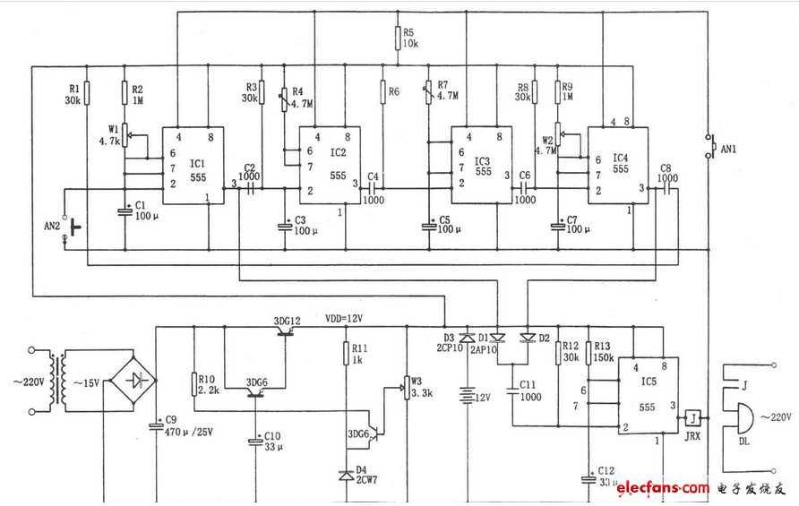 一种RC延时电路在变频控制中的使用