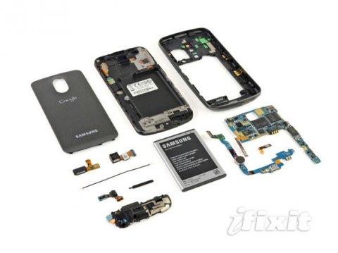 Galaxy Nexus拆解报告 内部芯片揭秘