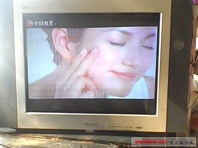 求助海信HDP2919彩电屏幕在TV/AV均有满屏白色横线干扰