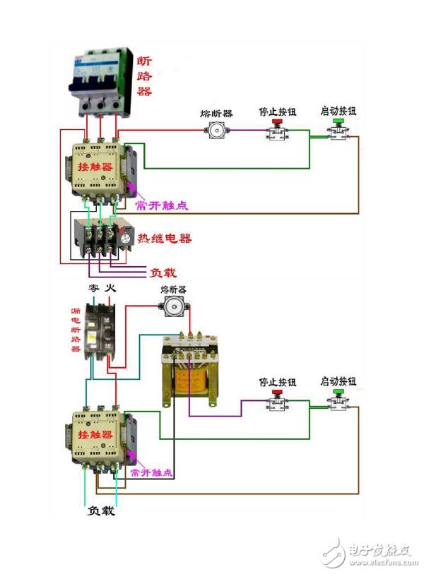 电工基础知识,很全面的电工接线图126个