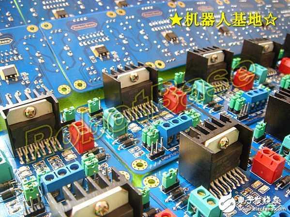 双H桥直流电机驱动板功能图解-国外经典 H桥电机驱动原理与应用 图片