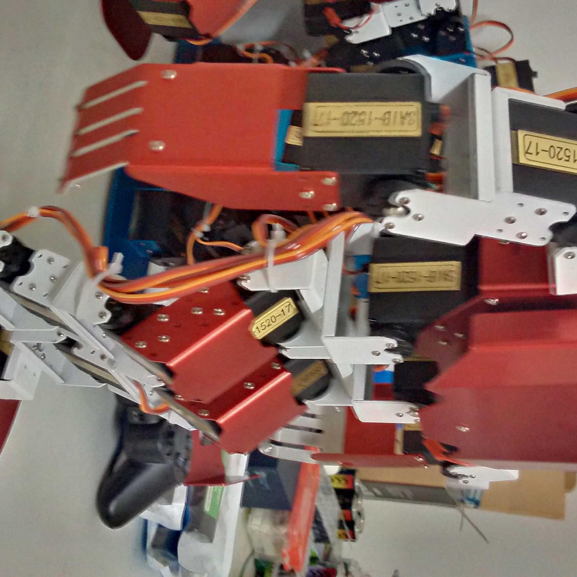 17自由度机器人