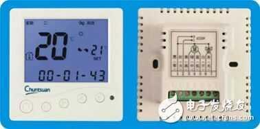 智能温控器的接线图图片