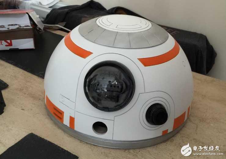 BB-8机器人竟然有人做出来了!大赞!