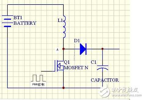 求3.7v升压到5v的电路图