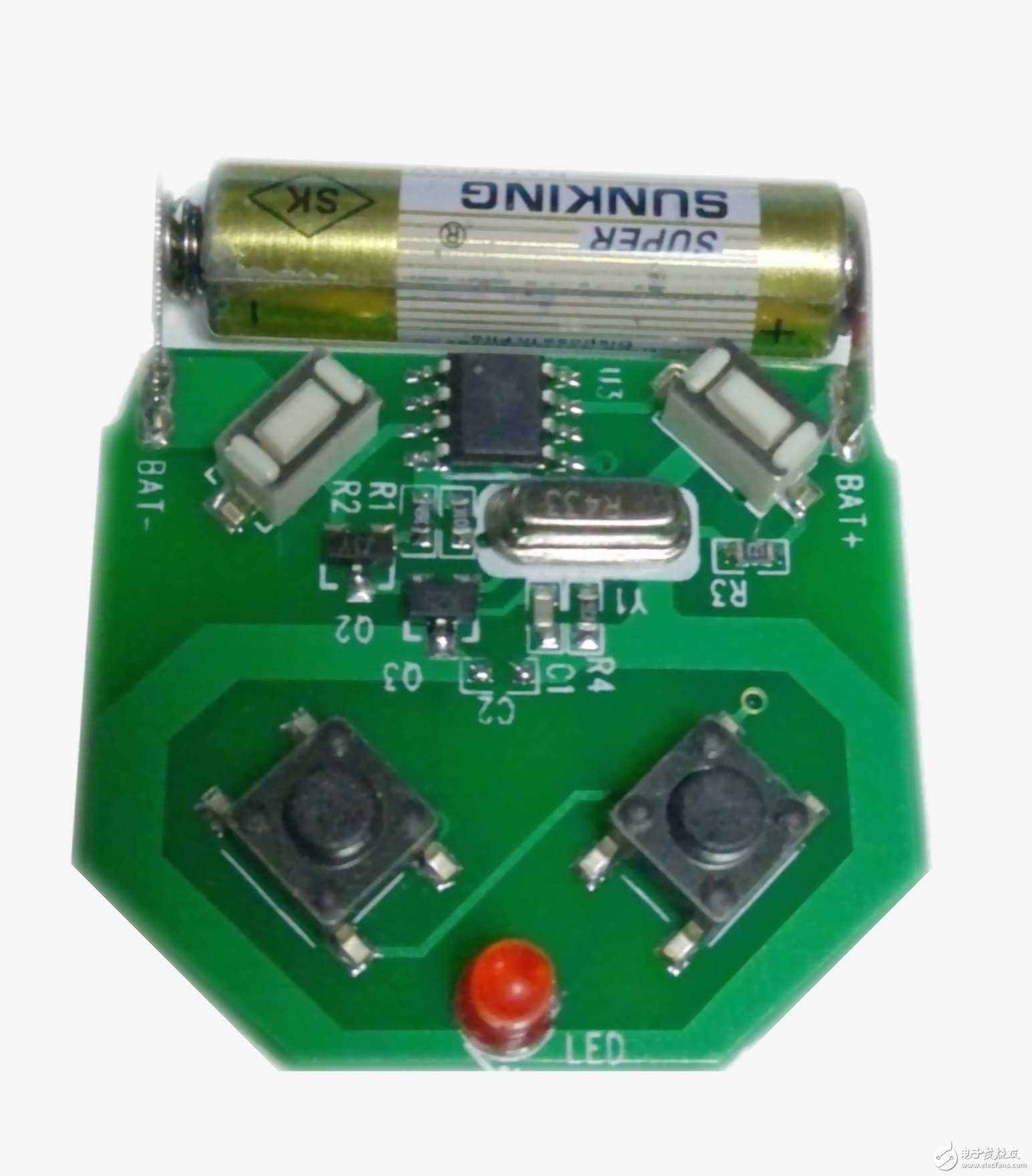无线产品都可用到的一款遥控器