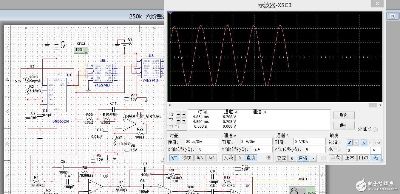 多种波形产生电路图片