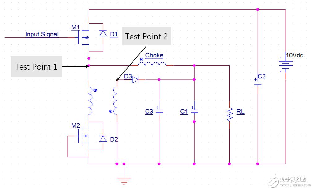 缓冲器在降压变换器中的应用问题(波形分析)