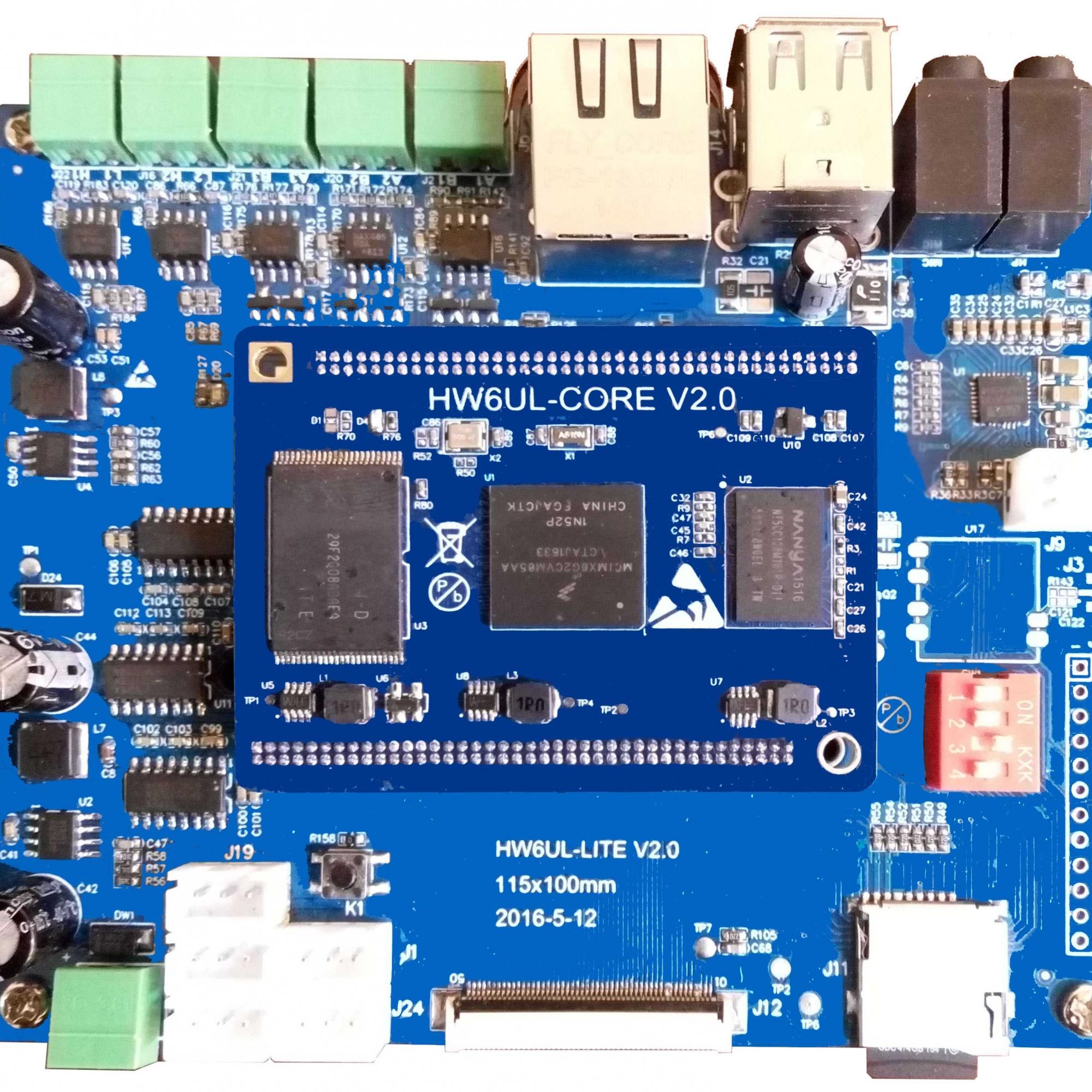 ARM工控板   AM335X开发板   IMX6UL工控板   多串口   千兆以太网  双网口