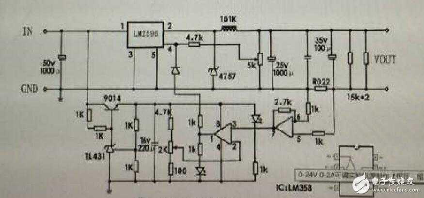 求助:详述LM2596S恒流恒压电路原理