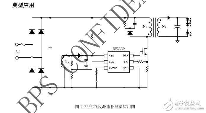 BP3329高PF低THD隔离大功率方案