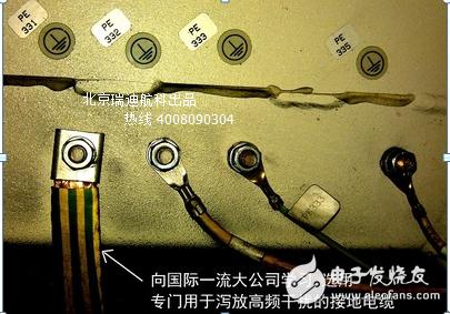 高频EMC接地线缆