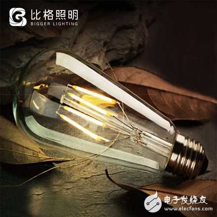 LED爱迪生灯泡E27复古暖黄光仿钨丝LED创意灯泡 原价5.8元,领券后【2.8元】