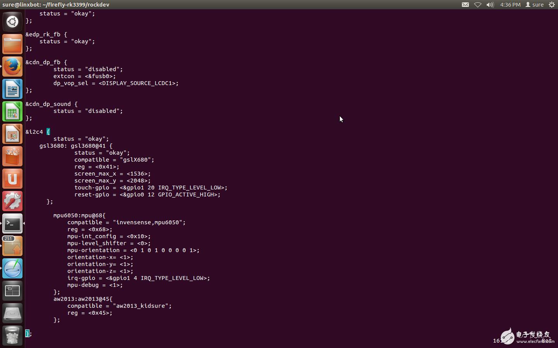 【Firefly RK3399试用体验】i2c驱动(一)编写及烧录