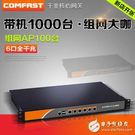 千兆企业级有线路由器多WAN核心网关AP AC控制器