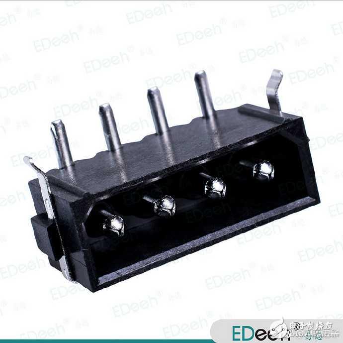 大4pin连接器 DC POWER 电源连接器 90度弯针 挖矿版专用 