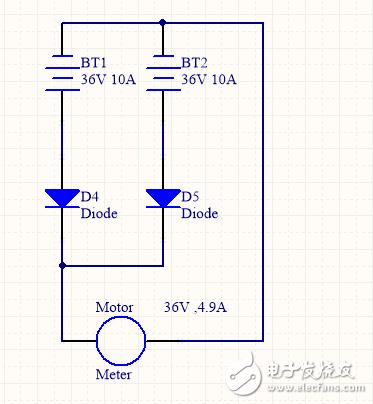 电机驱动电路冗余和反接保护电流