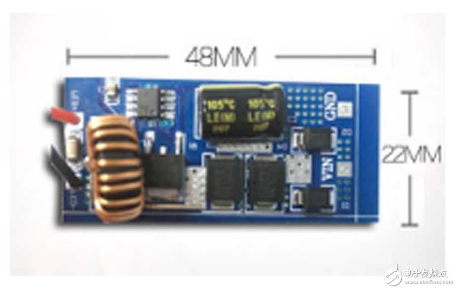 8-100V输入 降压型LED驱动IC  车灯驱动方案 过EMC测试(FP7176)