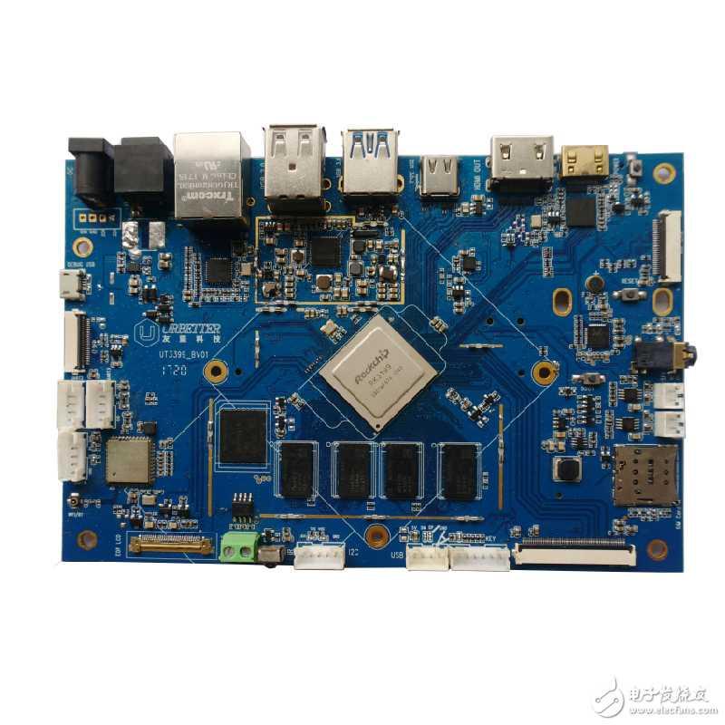 深圳南山瑞芯微RK3399嵌入式开发板代码使用 SPI 接口方法
