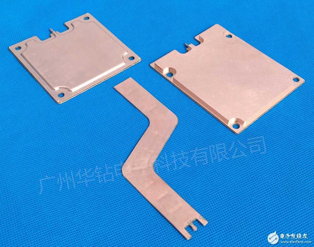 电子元器件CPU热传导热处理散热模助