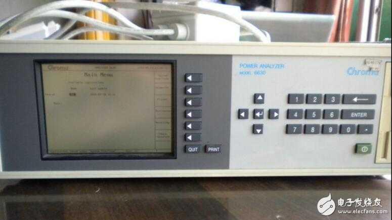 回收Chroma6630功率分析仪