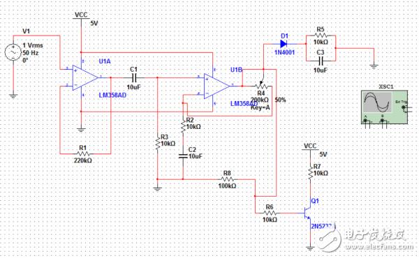 萌新求解lm358运放问题