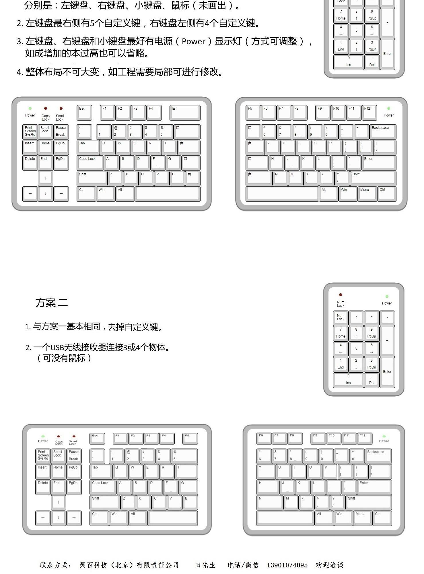 大家看看我设计键盘 ,实现起来难度大么?