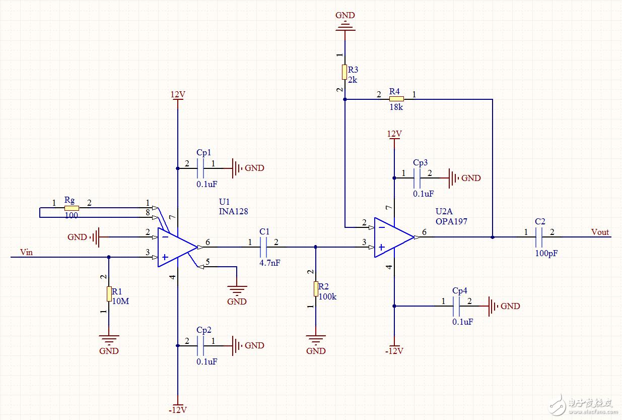 请教电路不接信号有输出,接信号没输出的故障出在哪里