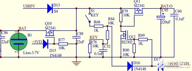 锂电充电电路