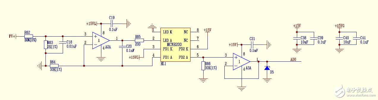 电路电压计算,右边AD0正常输出多少呢?
