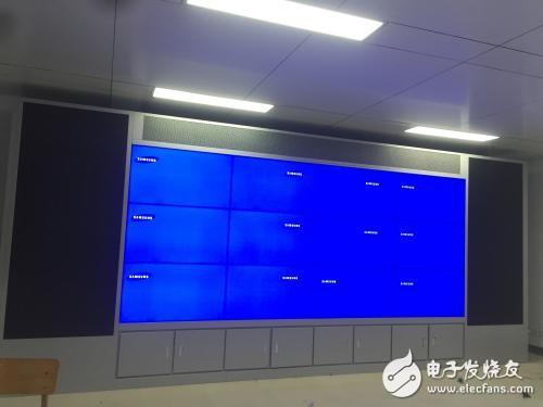 三星液晶拼接屏逐渐成为商场橱窗的一颗璀璨明星