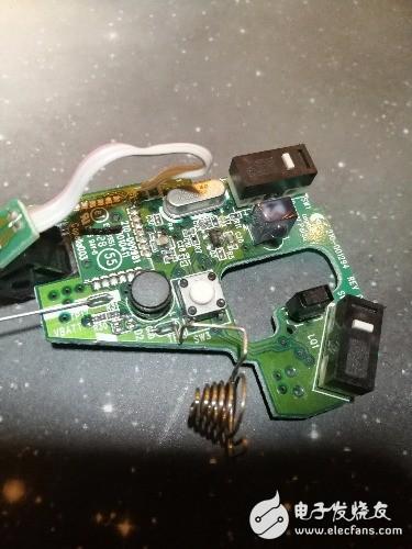想把无线鼠标改成有线鼠标,希翼大神给个引脚方案