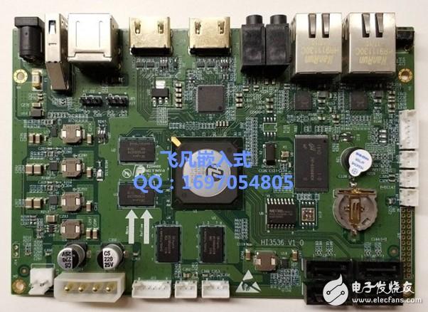华为海思HI3536开发板 H.265/H.264解码 HDMI2.0 4K输出 A17四核H.265