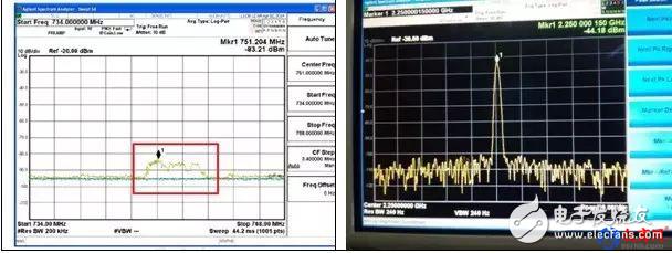 使用频谱仪和近场探头测试解决无线智能终端产品的辐射杂散困扰