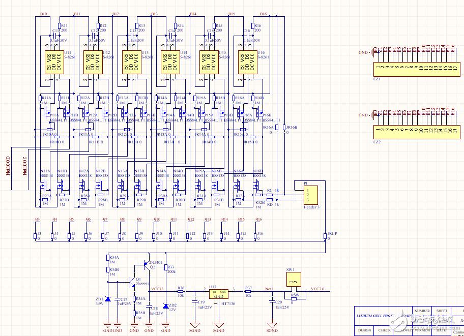 求讲解锂电池保护板原理?