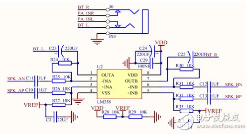 请问LM358电路工作原理是什么?如何计算放大倍数的?