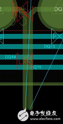 请问为什么CADENCE中差分线对会贴在一起?