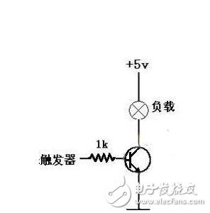 图中电机不加续流二极管也不烧三极管,请问大家电机停止的时候不是会产生很大的反向电压吗?