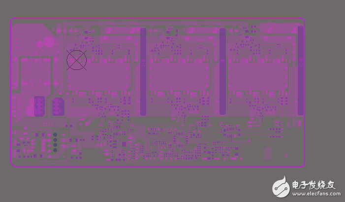 altium designer9.3打开pcb文件后显示好暗,不能清淅的看到一整块pcb板的真实样子,请问这是为什么?如何解决?