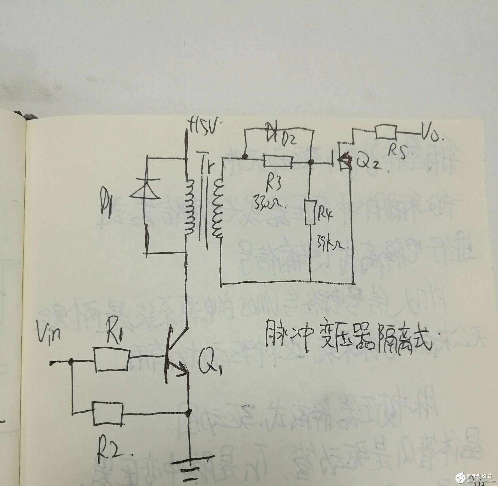 晶体管驱动电路的问题?