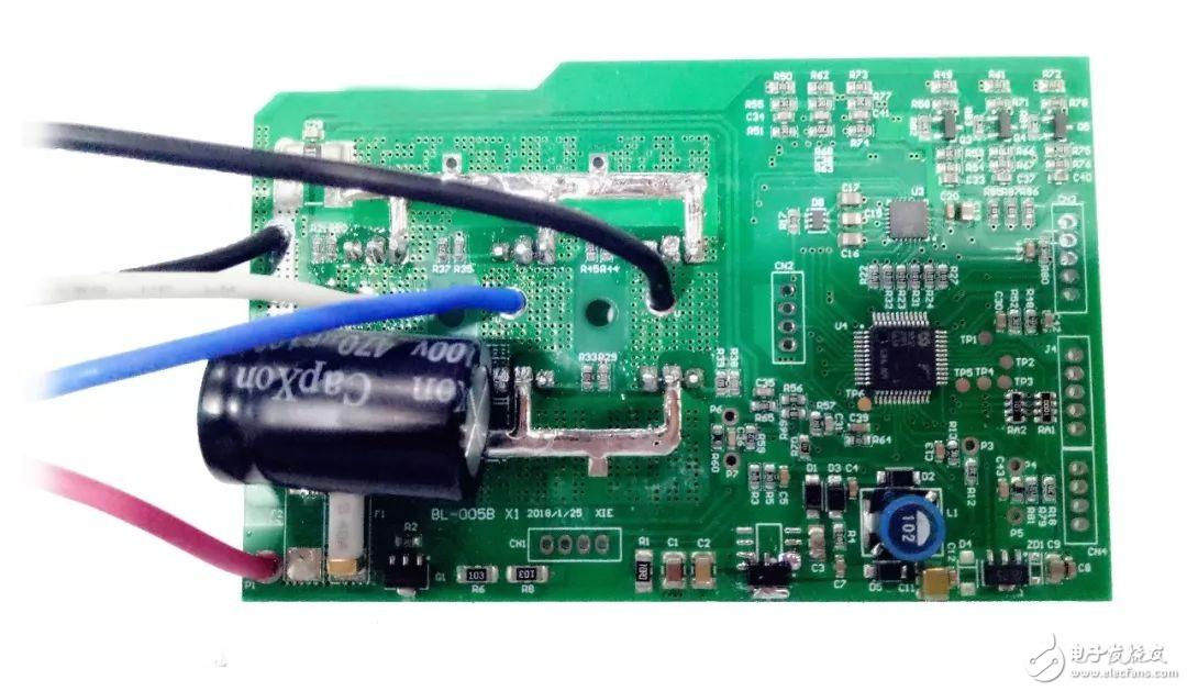 MM32SPIN MCU系列应用方案展示——电动工具