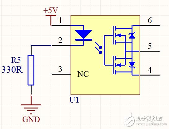 请教东芝光继电器的使用,不知道是应用电路上的问题,还是测量方法有问题?
