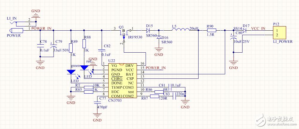 请问为什么我用的cn3703芯片在充电过程发烫,电流只有60mA,电池估计都没有充电