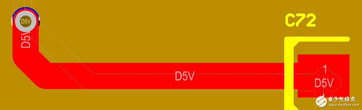 请问AD软件为什么会出现如图所示的虚线?