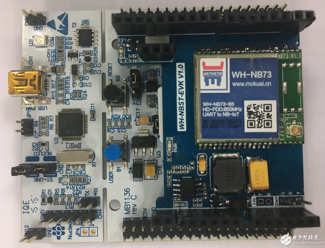 STMCU中文官网发布了有人&稳恒 NB-IoT连云方案