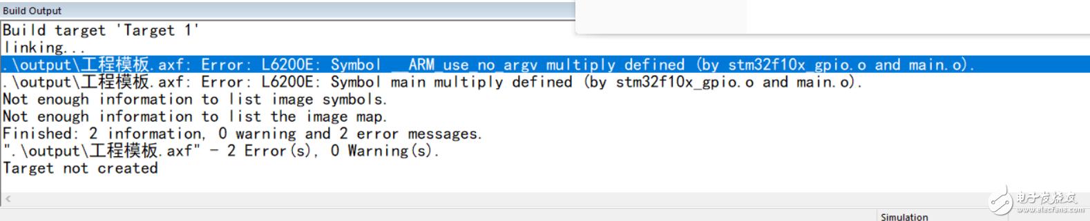 stm32蜂鸣器实验出现图示错误