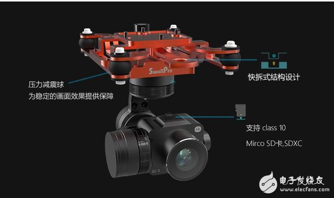 防水无人机的相机如何做到防水设计?有哪些技术含量?