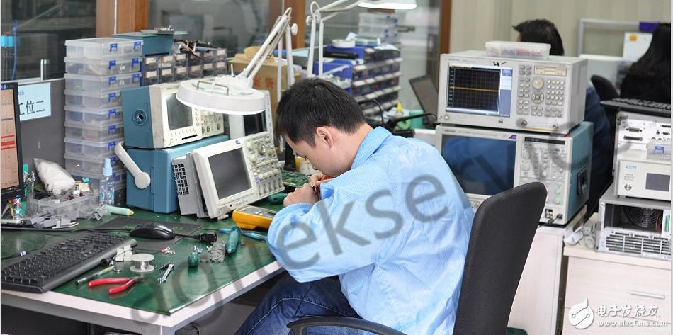 示波器测量超低频波形分析其差分信号的方法