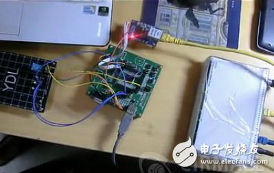基于STM32 ENC28J60的无线路由实现物联网模拟控制系统
